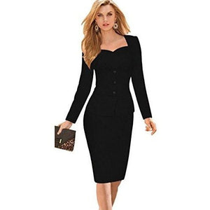 Professional Black Dresses