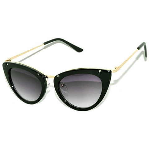 Vintage Cat Eye Sunglasses UV Protection - MillionDollarGurl.Com
