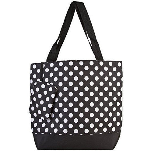 Polka Dot Collection Tote Bag - MillionDollarGurl.Com