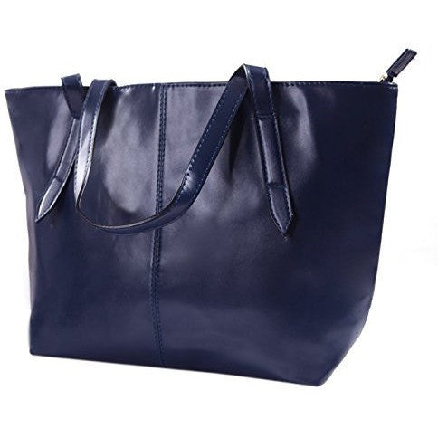 Leather Shoulder Bag Tote - MillionDollarGurl.Com