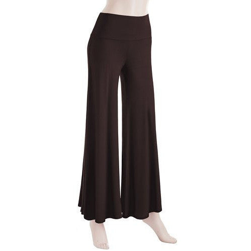 Comfy Chic Solid Color Palazzo Pants *Plus - MillionDollarGurl.Com