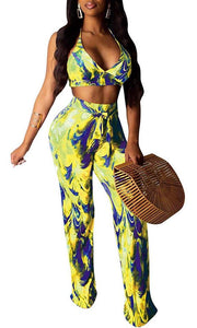 *SALE* Front Tie Short Sleeve Jumpsuit *Plus