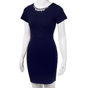 Bejeweled Fitted Bodycon Midi Dress *Plus - MillionDollarGurl.Com