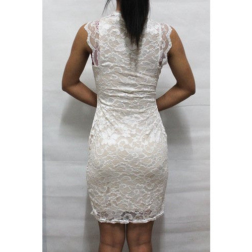 Clubwear Vintage Bodycon Lace Dress *Plus - MillionDollarGurl.Com