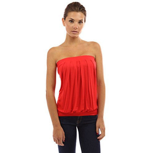 Pleated Tube Top - MillionDollarGurl.Com