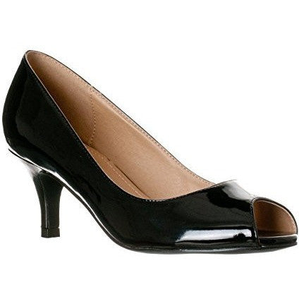 Slight Platform Open Toe High Heel Pumps - MillionDollarGurl.Com