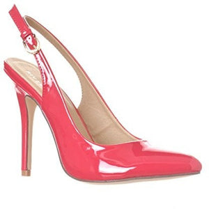 Pointed-Toe Sling Back Pump Stiletto Heels - MillionDollarGurl.Com