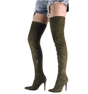 Attention Grabbing Stiletto Thigh Highs