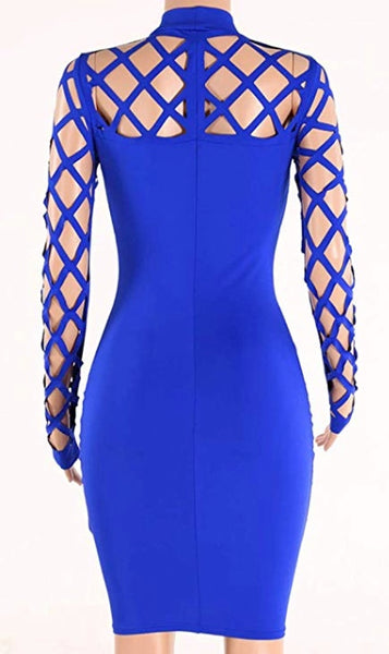 Bodycon Hollow Out Mini Dress