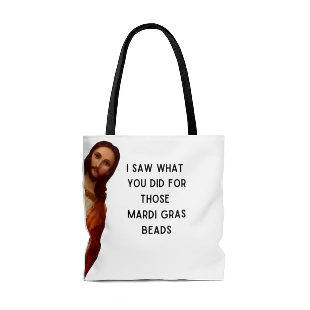 Jesus New Orleans Tote Bag - Mose Mary and Me