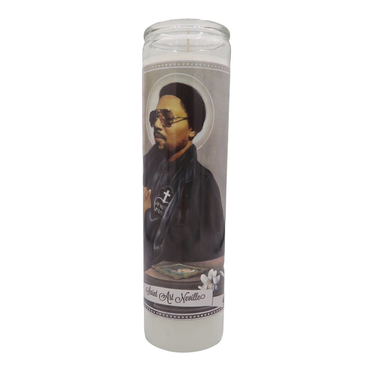 Art Neville Devotional Prayer Saint Candle - Mose Mary and Me