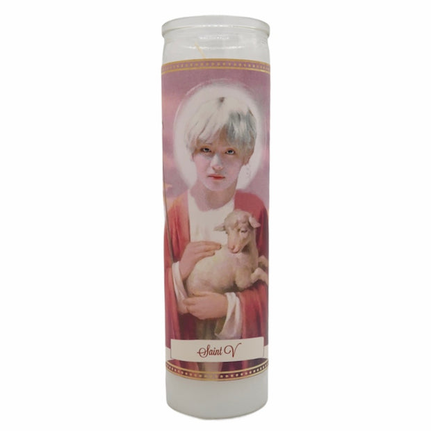 BTS Devotional Prayer Saint Candles - Mose Mary and Me