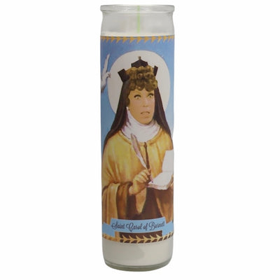 Carol Burnett Devotional Prayer Saint Candle - Mose Mary and Me