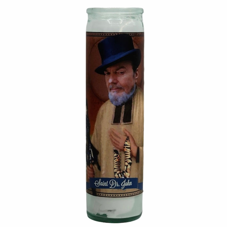 Dr. John Devotional Prayer Saint Candle - Mose Mary and Me