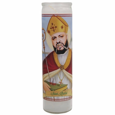 DJ Khaled Devotional Prayer Saint Candle (Another One Bless Up Candle) - Mose Mary and Me
