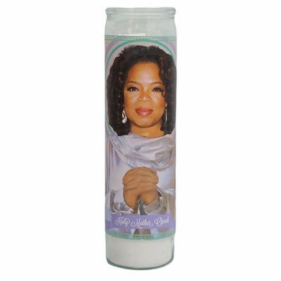 Oprah Devotional Prayer Saint Candle - Mose Mary and Me