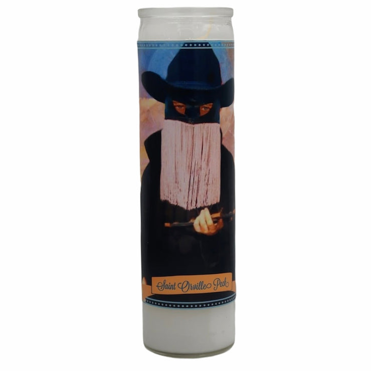 Orville Peck Devotional Prayer Saint Candle - Mose Mary and Me