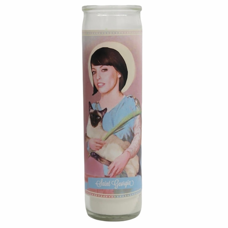 My Favorite Murder Prayer Devotional Candles - Mose Mary and Me