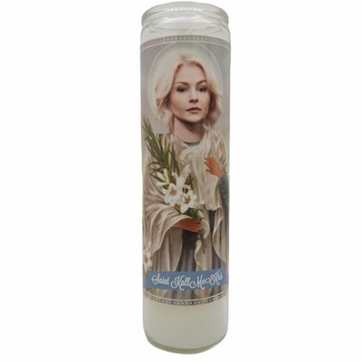Kall Me Kris Devotional Prayer Saint Candle - Mose Mary and Me