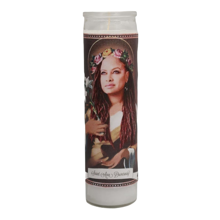 Ava Duvernay Devotional Prayer Saint Candle - Mose Mary and Me