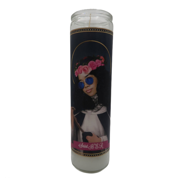 H.E.R. Devotional Prayer Saint Candle - Mose Mary and Me