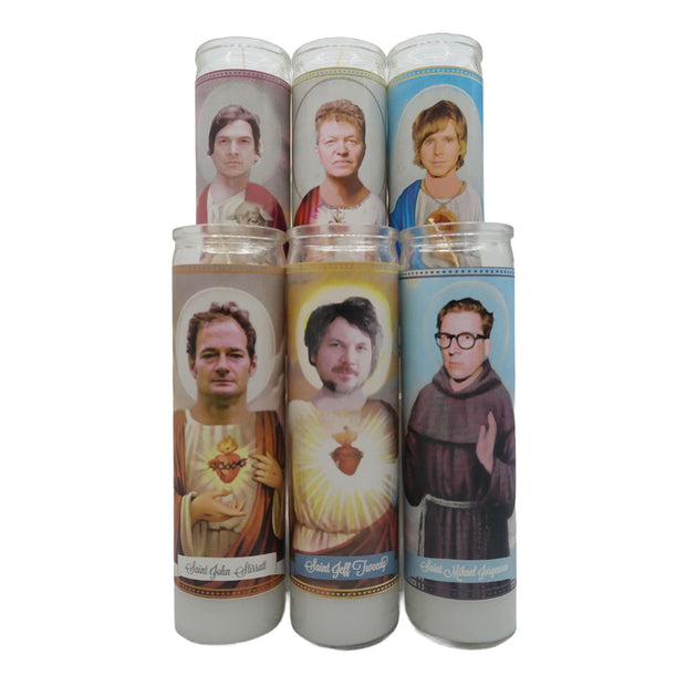 Wilco Devotional Prayer Saint Candle Set - Mose Mary and Me