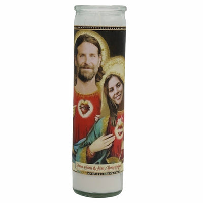 A Star is Born Devotional Prayer Saint Candle- Lady Gaga + Bradley Cooper - Mose Mary and Me
