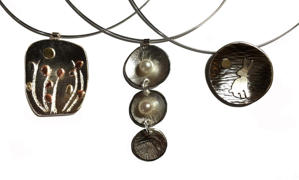 Silver Pendant and Earring Class