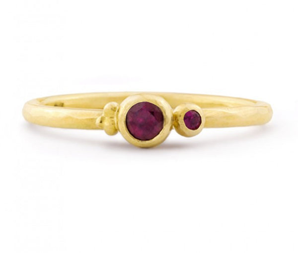 5 BERRIES RUBY RING