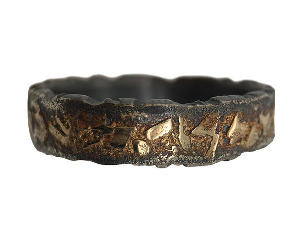BOULDER TERRAIN EDGE RING - OXIDISED