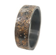 GALAXY RING WITH 7 RANDOM BLACK DIAMONDS
