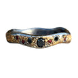 GALAXY WITH RUBIES AND BLACK DIAMONDS RING