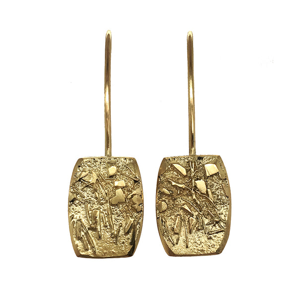 GOLD DUST HOOK EARRINGS