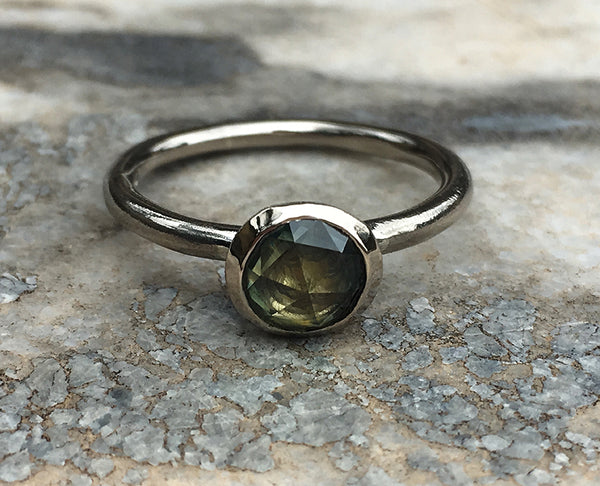 PARTI SAPPHIRE RING