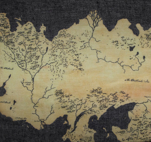 Game of Thrones Westeros Map infinity scarf
