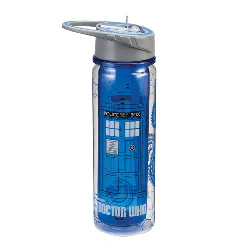 TARDIS Tritan water bottle