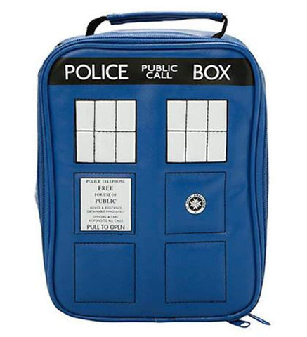 TARDIS insulated lunch bag