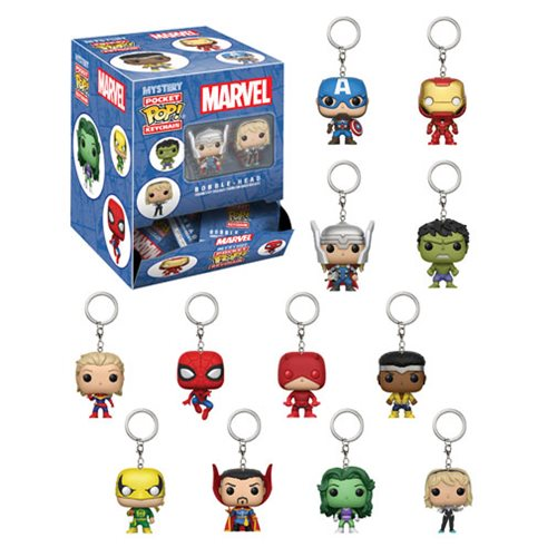 Marvel Funko Pop keychain blind bag