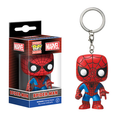 Spider-man Funko Pop keychain