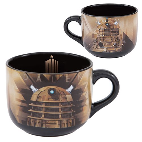 Dalek 20 oz soup mug