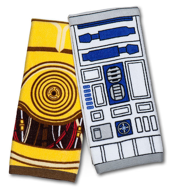 R2-D2 and C3PO hand towel set