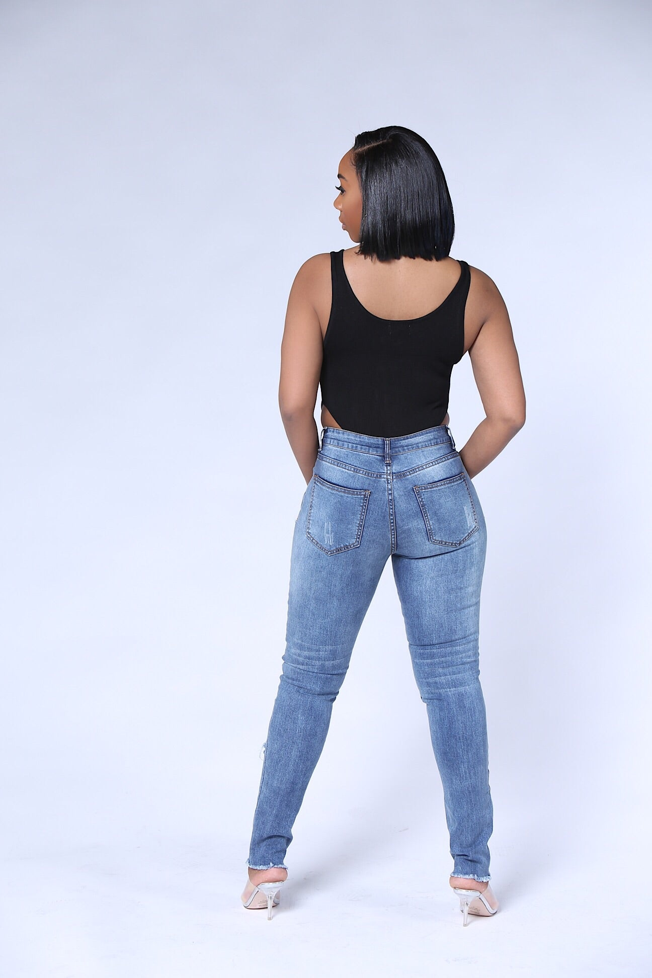 BAD GAL JEANS - IntrigueFashions