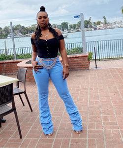 KRYSTAL DENIM JEANS - IntrigueFashions