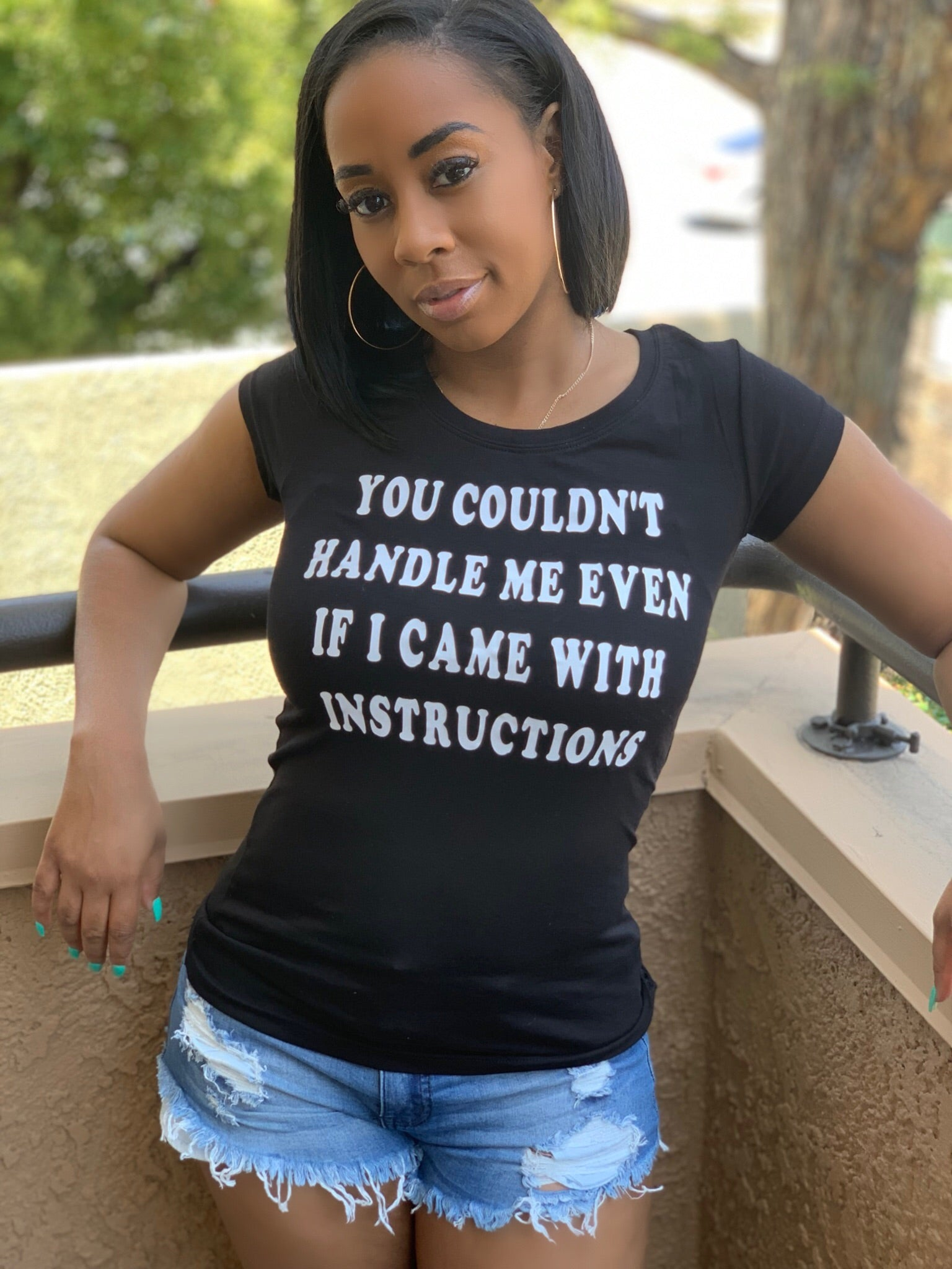 YOU COULDN'T HANDLE ME - IntrigueFashions