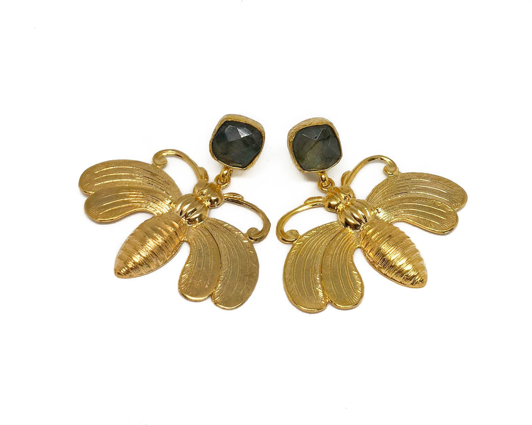 'Fara' Bug Earrings
