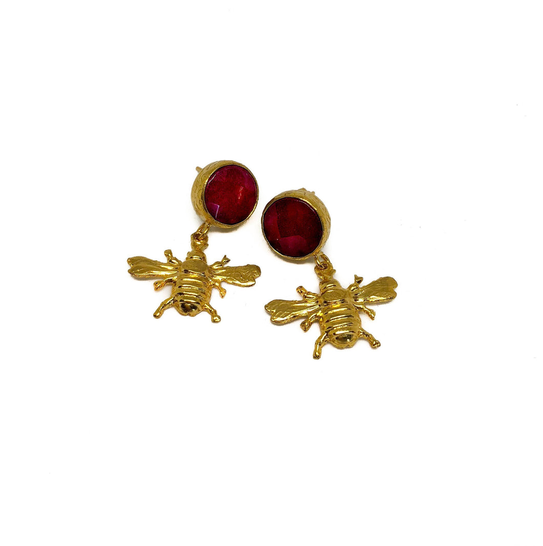 'Mila' Bug Earrings