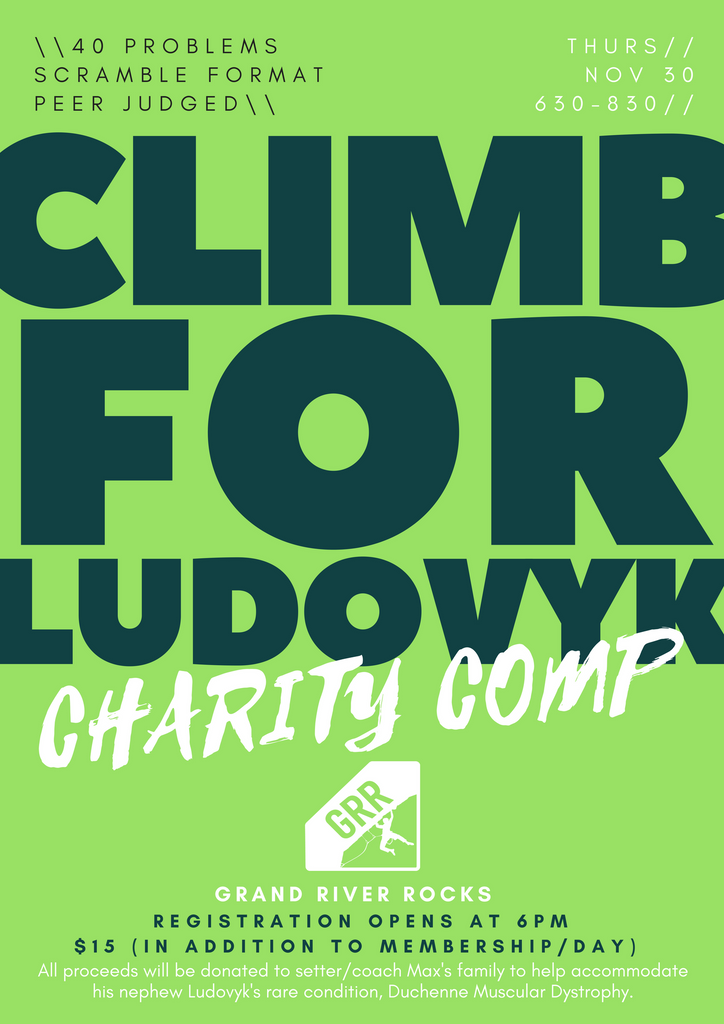 Climb for Ludovyk