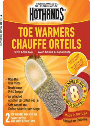 HeatMax  Toe Warmers - Sender Gear Canada