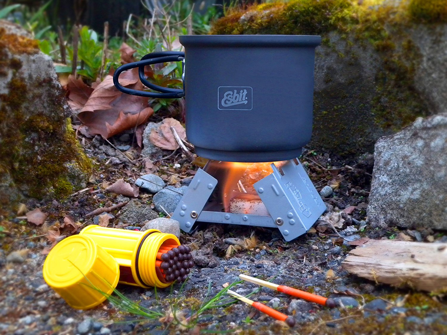Esbit emergency stove solid fuel