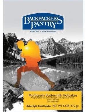 Backpackers Pantry  MULTIGRAIN BUTTERMILK PANCAKES - Sender Gear Canada